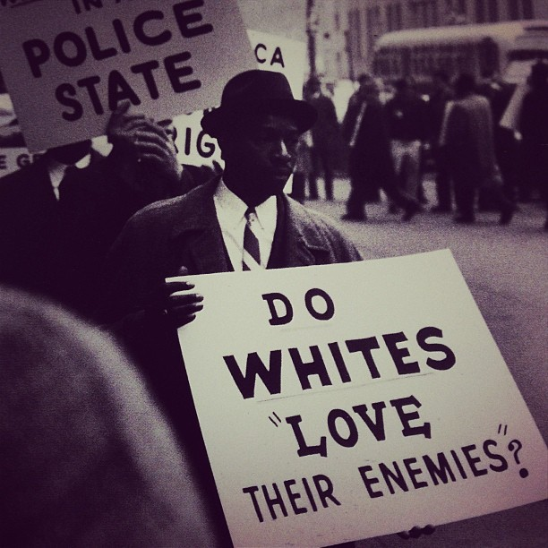 "black-culture:  Do Whites ""Love Their Enemies""?"