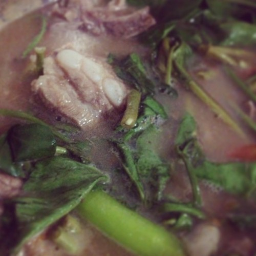 All time fave. #porksinigang #kitchenduties #dayoffnimama