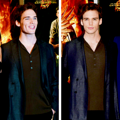 "Sam Claflin | ""The Hunger Games: Catching Fire"" Photocall at Cannes 2013"