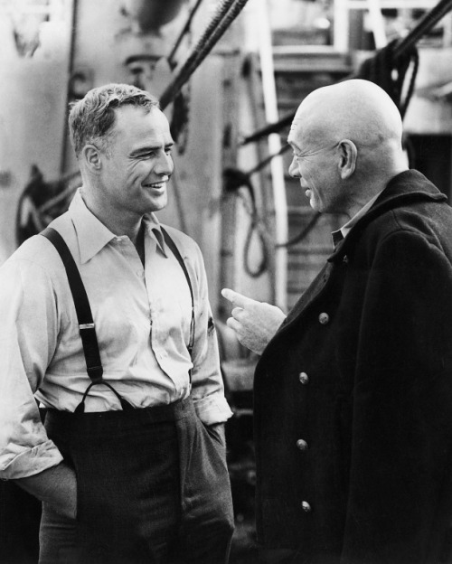 Brando and Brynner