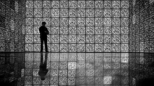 Where is the QR code…? by Thomas Leuthard OM-D: Photography Playground, Opernwerkstaetten, Berlin until May 24, 2013