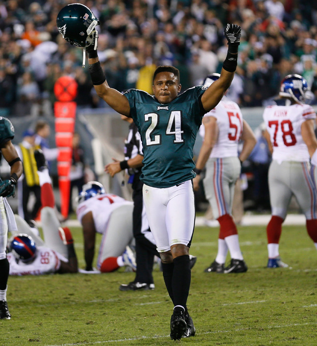 Nnamdi Asomugha is a free agent. The cornerback came to the Eagles for a five-year, $60 million contract after three straight Pro Bowl seasons with the Oakland Raiders. It's been mostly downhill from there. The Eagles released Asomugha when the sides couldn't agree to a restructured deal, ending his run in Philadelphia after two years in which Asomugha didn't make the Pro Bowl and the Eagles didn't make the playoffs. (Rob Carr/SI) GALLERY: NFL Vets Who Need a Team