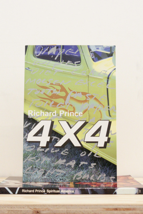 "Richard Prince, 4 X 4  ""my idea of gun control is holding it with two hands"" Korinsha Press & Co, Kyoto, 1997 12 x 8 inches (30.48 x 20.32 cm) first edition $250 Purchase"