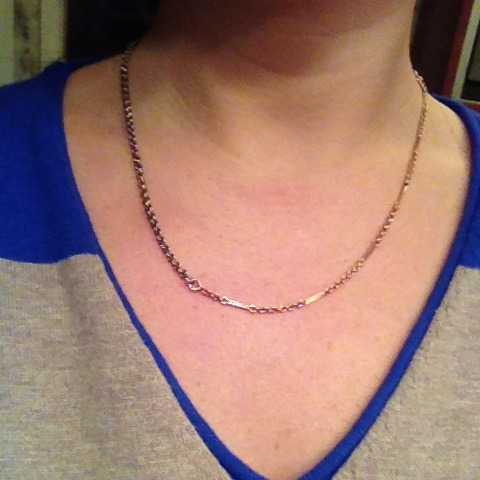 Super pleased with my awesome new antique chain purchase.