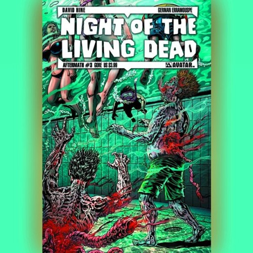 #NightoftheLivingDead #Comics Get your #WalkingDead fix by #ReadingComics #twd #zombies #undead