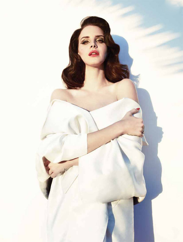 Lana del Rey by Mark Williams & Sara Hirakawa for Fashion Magazine Summer 2013 wearing Miu Miu