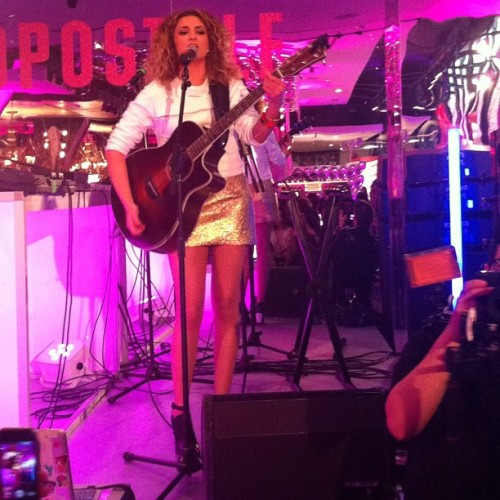 Tori Kelly performing at our birthday party