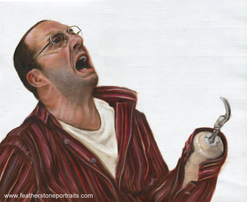 thebluthcompany:  Buster Bluth Portrait by Feather Stone Portrait