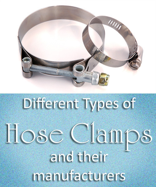 Different Types of hose clamps and their manufacturers A hose clamp is said to be the device that is designed to attach tubes or hoses to various fixtures and objects. The fitting to which hose is attached, is called barb or nib. Generally, the hose clamp is first attached to the end of the hose that is to be fastened to nib and then the clamp is tightened so that the hose is not loose.http://goo.gl/HhuVVy