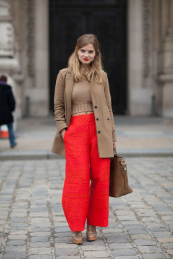 #streetstylethursday love this color combo