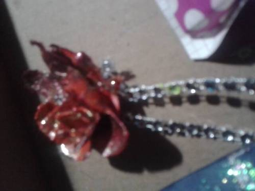 My hand crafted flowers and butterflies