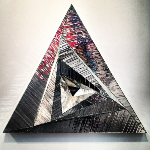 groovy moves monir farmanfarmaian🔺📐 (at The Armory Show)