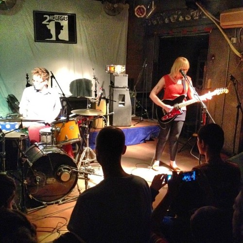 American indie rock goodness, Wye Oak, comes to China~ (at 2 Kolegas, Beijing 北京两个朋友们酒吧)