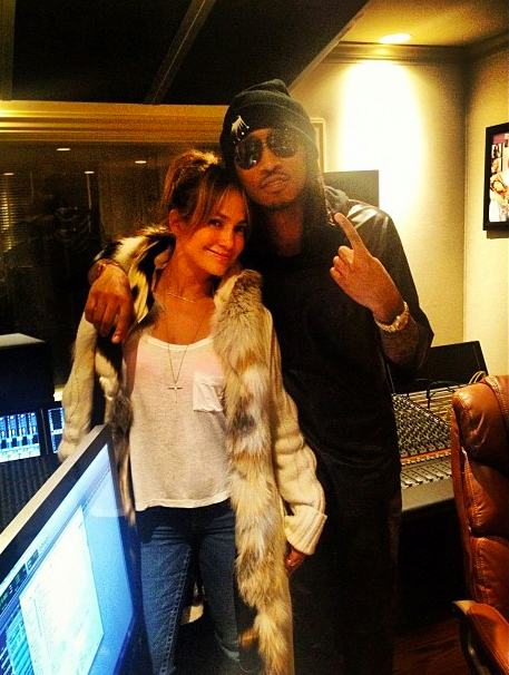 jennifer lopez w/ future hendrix  THIS COULD REALLY GO EITHER WAY