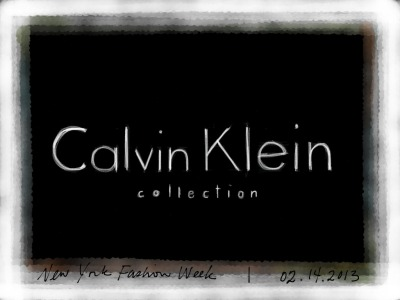 Calvin Klein Collection Fall 2013 Runway Show