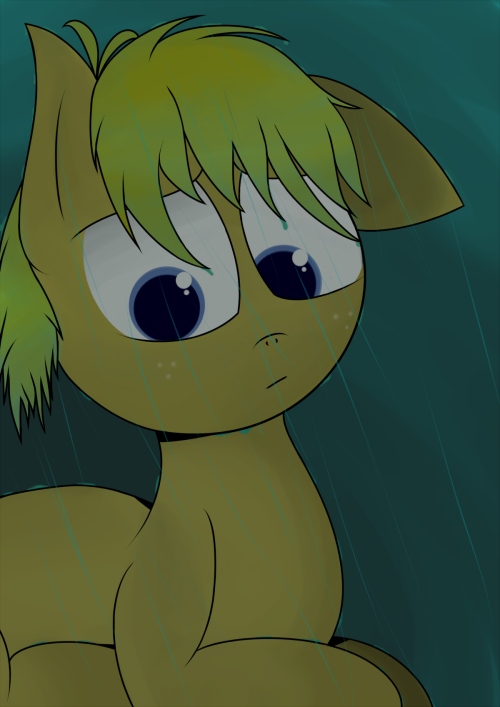 yorkys-art:  Raining Intuos.  ((Like I promised. Here is a bit of my newer artwork I've been working on!