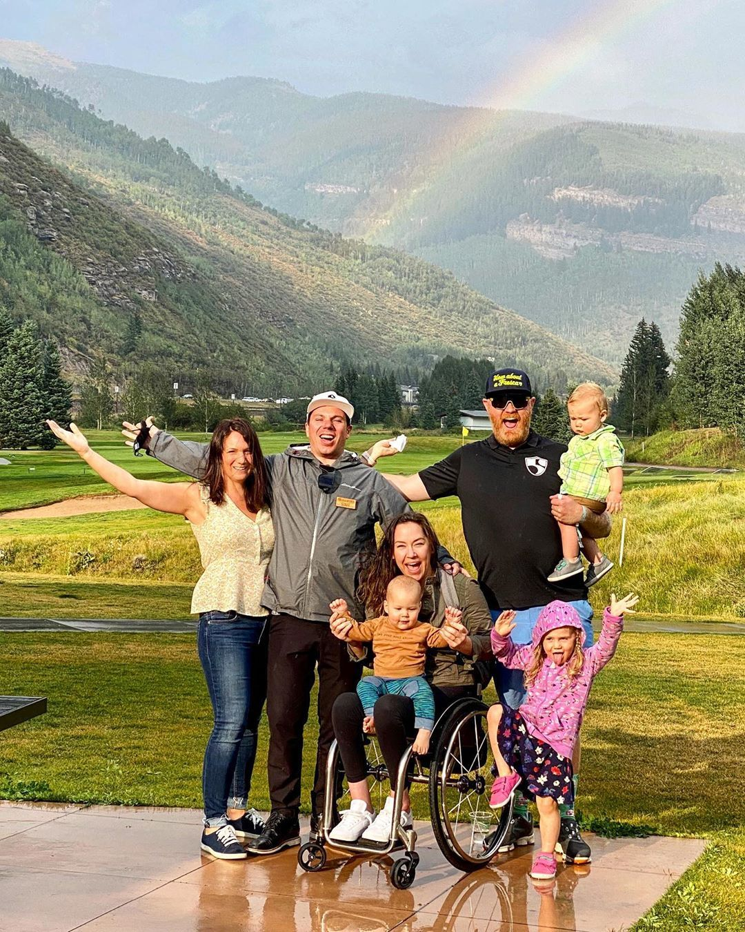 Happy Birthday @roytuscany … Happy 6th annual @hi5sfoundation Colorado Golf Tournament … Happy to get our twins Bo and Gunnar together at last! (at Vail Golf Club)https://www.instagram.com/p/CEaQvcgFPpl/?igshid=1muj89fp4wpru