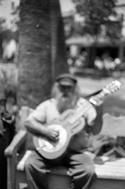 Amazing Street Performer, Santa Barbara, 2008 (taken on old school 35mm)