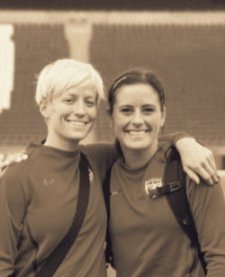 tpinoe:  My two favorites.