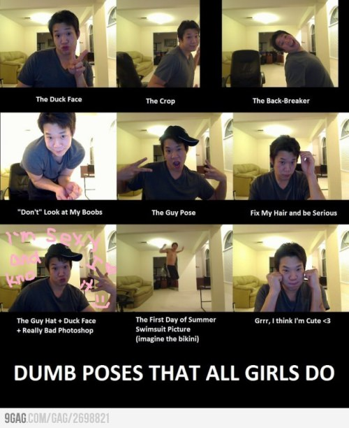 poses that ALL girls do