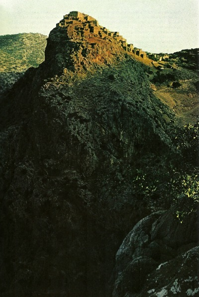 Castle at Avavotos island of Khios, Greece National Geographic | August 1972
