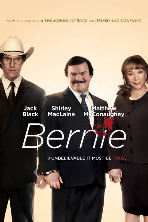 Bernie is an amazing movie and Jack Black is incredible in it. He perfectly represented this Southern stereotype that not many people know of, the effeminate and closeted church deacon. Every church has one and everyone loves him, especially in small towns. This story is about a character named Bernie who is a caring man who puts everyone before himself that let his inner demons briefly take control of his life which leads him down a dark road. It's streaming on Netflix right now and you'll be doing yourself a favor by watching it. Jack Black deserves at least an Academy Award nomination for this .