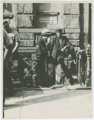 "Jay-Z look-alike. Photo originally taken in 1939. ""Allow me to pre-introduce myself…"""