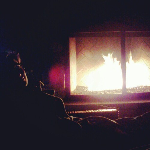 songofthedayfromryan:  @mayanwhite enjoying our outside fireplace!  We have two outdoor fireplaces and one circular fire pit at our resort complex.  (*and four pools but who's counting?)