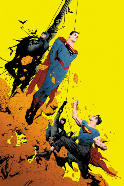 Comic Vine has an interview with Greg Pak about the upcoming Batman/Superman series. He talks about the two heroes venturing to Earth 2 and meeting their counterparts.  CV: The solicit for issue 2 mentions them going to Earth 2. Is it an easy adjustment for them, knowing about the existence of another Earth? GP: It's going to blow their little minds. [laughs] The exciting thing about it is that they are going to end up, as the cover to issue 2 implies, face to face with Earth 2's version of Superman and Batman. It's a really interesting set of opportunities, conflicts and challenges because we've got our world Superman and Batman, who at this stage are young and raw and their coming face to face with Earth 2's version. They are both older and established. They're both incredibly good at their job, they like what they're doing and their best friends. There's great challenges that the characters will face that's a ton of fun to write. CV: Will there be any repercussions or mentions later in either Earth 2 or Justice League over this trip? GP: All I'll say is, all will be revealed in the fullness of time.