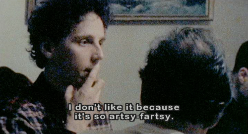 brandef:  throughascreendarkly:  Julien Donkey-Boy (Harmony Korine, 1999)  Gaspar Noel short give you me aning