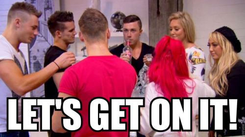 HAPPY FRIDAY! #geordieshore #geordies #geordie #gaz #charlotte #james #holly #scott #dan #ricci #vicky #ricciandvicky #mortal #letsgetmortal