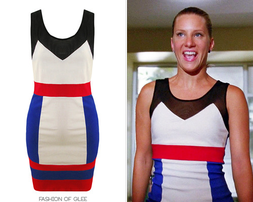 Macy's Petticoat Alley Colorblock Bodycon Dress - $32.75 (EBAY size M)