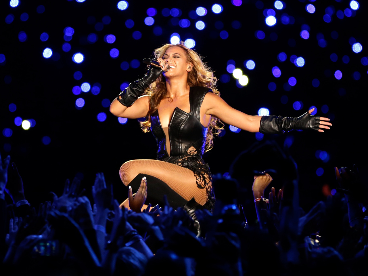 nprmusic:  Beyonce's display of imperial charisma at the Super Bowl comes off as an historical inevitability, and as something that benefits us all. Ann Powers says it's an illusion, but what a substantial one. Photo: Ezra Shaw/Getty Images  If you are going to read any piece on last nights flawless performance, read this one.