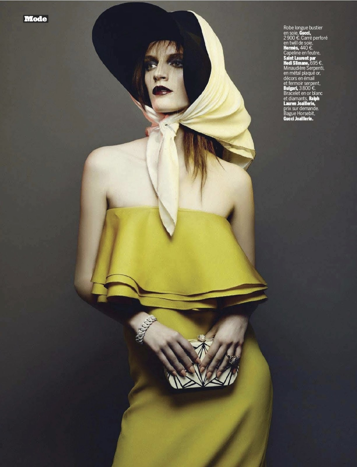 belle intrepide: laura kampman by dancian for l'express styles 8th may 2013. from visual optimism