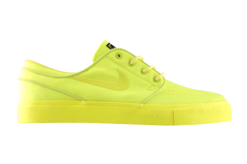 "WANT: Three Squares Studio x Nike SB Zoom Stefan Janoski ""Lemon Twist"""