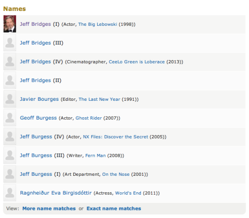 So many Jeff Bridges