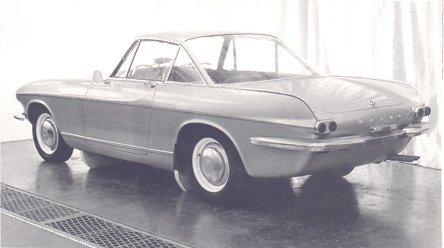 thatyellowvolvoguy:  A design proposal for a restyled P1800 that never saw the light (source)
