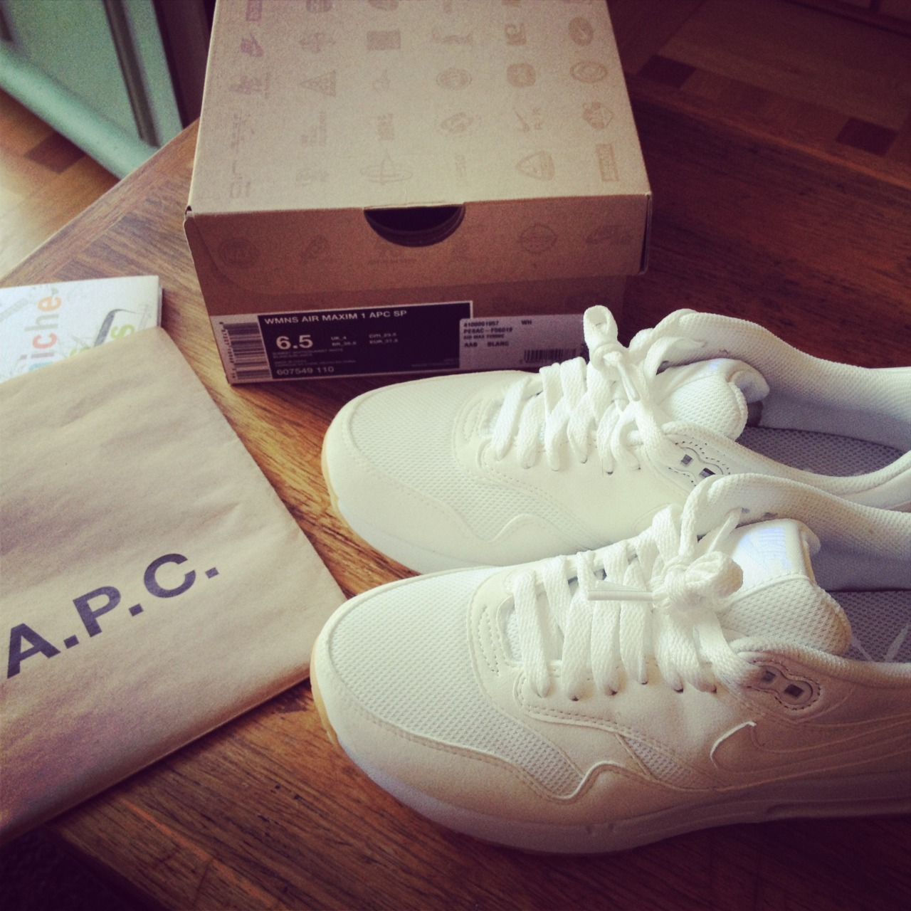 audiparis:  Merci A.P.C., Merci Rue Madame , Merci M. Touitou , Merci Nike  !