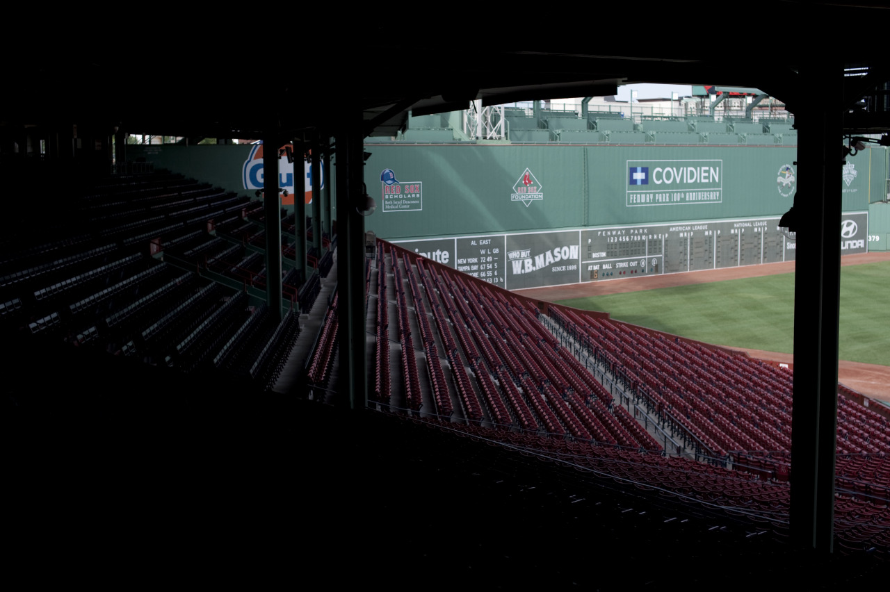 stadium-love-:  Photo taken at Fenway Park in Boston, Massachusetts Submitted by raskut