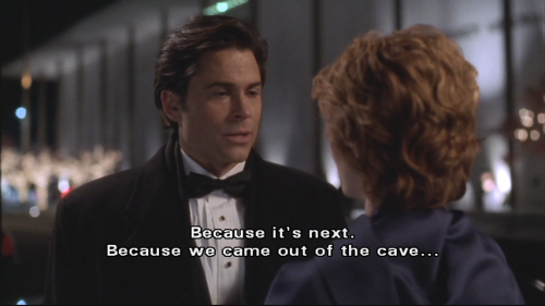 alwaysmoneyinthebnanastand:  And this is why Sam Seaborn was the best character on The West Wing.