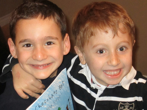 Two best friends, ages 6 and 7, raise $200,000 to fight rare disease (Photo via NBC Nightly News) LOS ANGELES — There are only about 100 people in the U.S. like 7-year-old Jonah Pournazarian. He suffers from a rare genetic and incurable disease called Glycogen Storage Disease Type 1B. Up until the 80s, most kids with his condition didn't survive past the age of two. Read the complete story.
