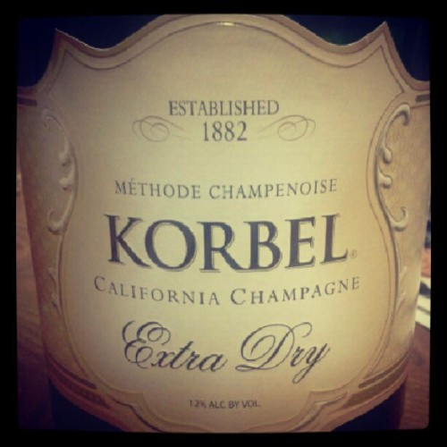 What's your flavor tonight? Ours is #Korbel