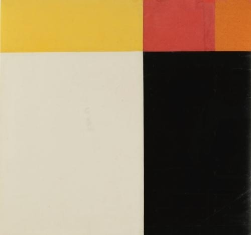 laflaneuse8:  Ellsworth Kelly, Study for Tiger, 1952
