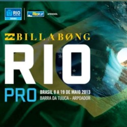 Starting this week, Billabong Pro surfing in Rio!