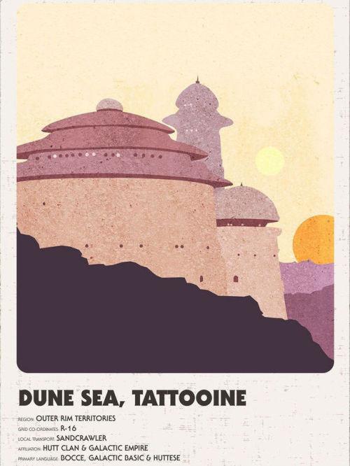 gffa:Star Wars Vintage Travel Posters   by  PostersByJayne #ugh i love these #sw