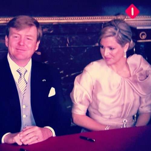 archanahaarnack:  #maxima #dreamy #dress #queensday #dutch #holland #netherlands #kingsday