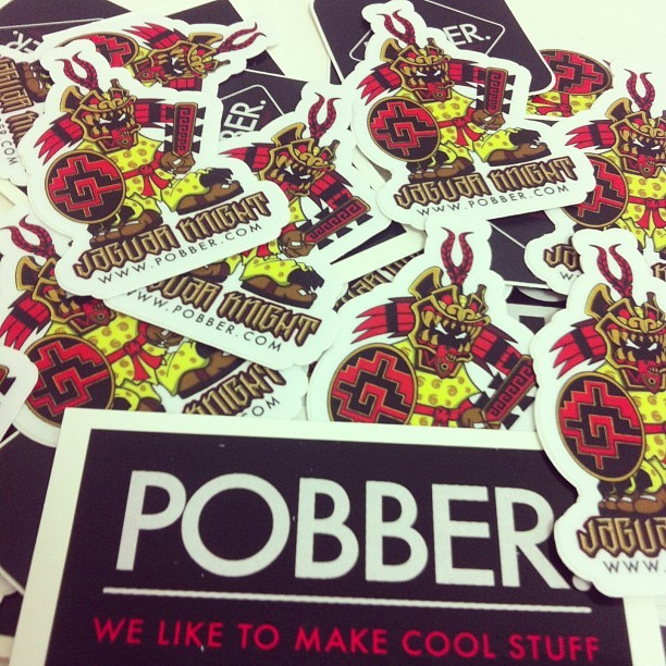 Sticker giveaway soon. #pobbertoys #stickers #giveaway