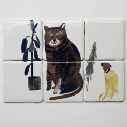 vajert:  Fantastic tiles by illustrator Laura Carlin
