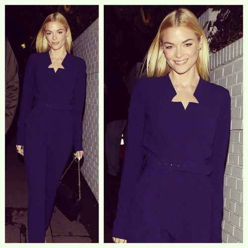 rachelzoe:  Nothing I love more than Jaime King in my Gemma jumpsuit…so gorj!