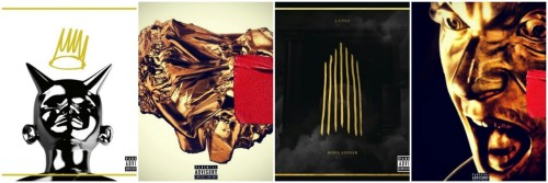 swagnificence-and-felicitousness:  BORN SINNER VS. YEEZUS. Let the battle begin